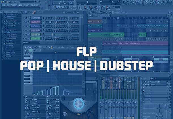 flp template pop-house
