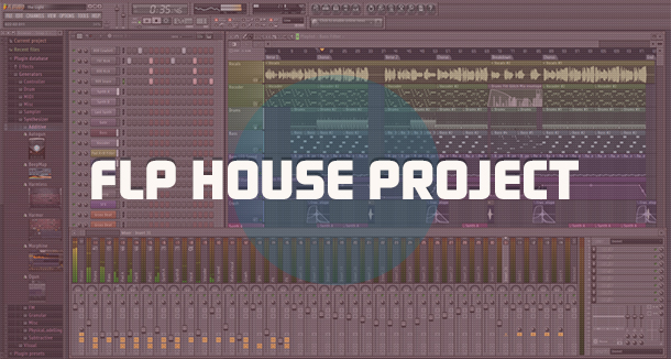 FLP проекты на FL Studio