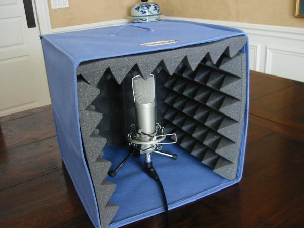 Шумоизоляция микрофона своими руками